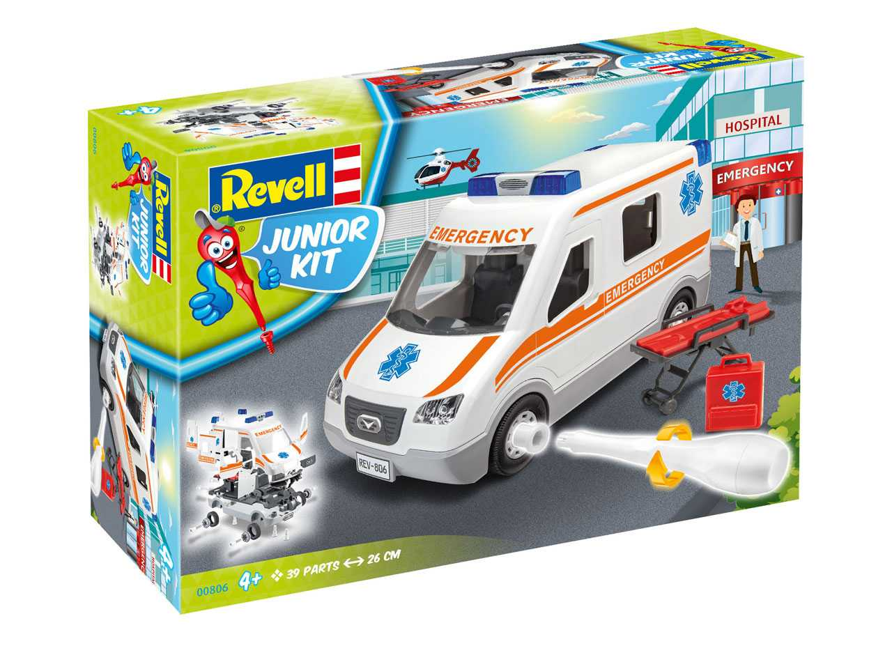 Auto Junior Kit sanitka - Revell 00806