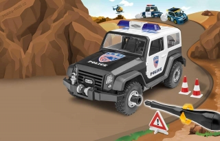 Auto Junior Kit Off Road Policie - Revell 00807