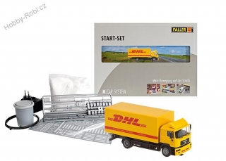 Car system Start set DHL 1:87 H0 - Faller 161607